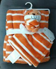 HUGGING PALZ Baby Blanket Security Set FOX Woodland Orange Infant Boys Girls NEW