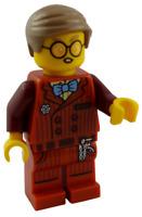 Lego Mr. Clarke Hidden Side Minifigur Legofigur Figur Mann mit Brille hs016 Neu