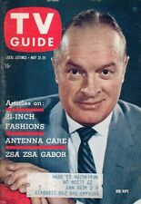 1959 TV Guide May 23 - Bob Hope; Zsa Zsa Gabor; Yancy Derringer; Jay X Brands