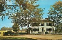 Salem Towne House Old Sturbridge Village  Massachusetts MA Postcard