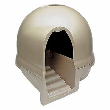 Cat Litter Box Pet High Tray Handle Booda Cleanstep Dome Carbon Filter Petmate
