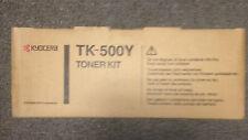 KYOCERA GENUINE TONER TK 500 Yellow Printer Toner