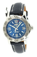 Breitling Colt 33 Blue Dial Stainless Steel Watch A7738711
