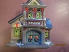 BAKERY FOR YOUR  CHRISTMAS HOLIDAY TRAIN Village House COLLECTION UNSIGNED