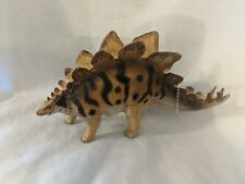 "1988 Carnegie Collection Safari Stegosaurus Figure,Dinosaur 6.25"" x 3.5"""