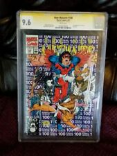 New Mutants 100 CGC 9.6 SS Stan Lee Signed 1st X Force