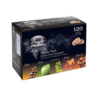 Bradley Smoker BT5FV120 Smoker Bisquettes [5 Flavor Variety (120 Pack)]