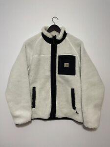 Carhartt Men's Fleece white prentis Jacket Xlarge brand new in hand