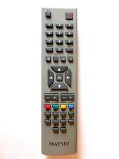 MATSUI TV REMOTE CONTROL for 32WN21