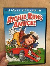Richie Kavanagh-Richie Runs Amuck!(UK DVD)Comedy Songs Music 1998 Co. Carlow