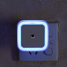 0.5W Light Sensor LED Light  EU US Plug Kid Room Bed Lamp Bedroom Night Light
