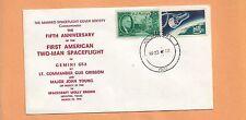 5th ANNIVERSARY FIRST AMERICAN TWO-MAN SPACECRAFT GEMINI GT-3 MAR 23,1970 HOU