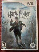 Harry Potter And The Deathly Hallows Part 1 Wii Game! Complete!