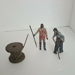 McFarlane Toys The Walking Dead - Morgan with Impaled Walker Action Figure Set