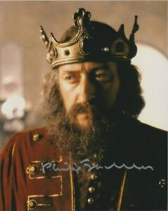 """Philip Jackson in person signed 10"""" x 8"""" photograph - British Actor - K584"""
