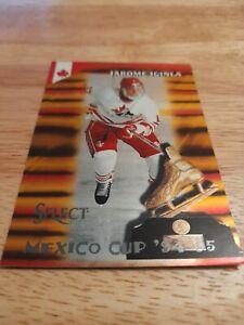 Jerome Iginla 1994 95 Score Mexico Cup Team Canada GOLD