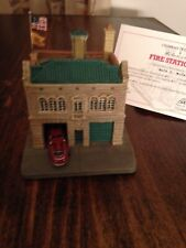 danbury mint Kansas City Mo. Fire House #31 Mint Condition