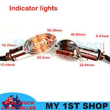 2pcs LED Indicators Motorcycle Turn Signal Light Harley Chopper Honda Yamaha BMW