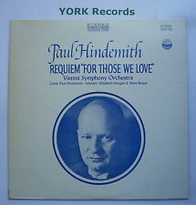 "EVEREST 3215 - HINDEMITH - Requiem ""For Those We Love"" - Excellent Con LP Record"