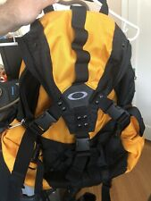 Vintage Oakley Icon Backpack Yellow New