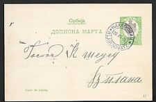 Serbia covers 1904 PC