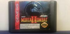 Mortal Kombat II 2 (Sega Genesis, 1993) Video Game Cartridge