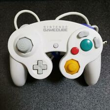 USED Nintendo GameCube Official Controller White GC JAPAN OFFICIAL
