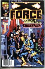 X-Force #94-1999 vg+ X Men Newsstand Variant Genosha