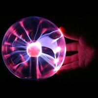 "6"" USB Touch Sensitive Plasma Ball Globe Constantly Disco Lighting Lamp Dec DD"