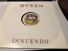 "Queen Innuendo Rare Uk 12"" Promo Original 1991 Nice Condition Fanclub"