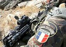 ISAF French Foreign Legion Opération Pamir Légion étrangère L.E. Legionar Tab