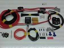 3mtr 12V Split Charge Kit System 100A Heavy Duty Relay 110A Ready Made Leads