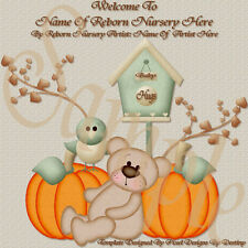 ~~BABY HUGS REBORN  AUCTION TEMPLATE WITH FREE LOGO~~  DOUA
