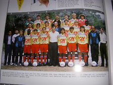 FOOTBALL COUPURE LIVRE PHOTO COULEUR 20x10 D2 GrA LOUHANS CUISEAUX 1989/1990