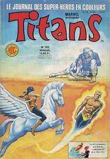 BD--TITANS N° 103--STAN LEE--LUG / AOUT 1987