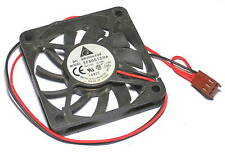 Delta DC brushless fan EFB0612HA 12V 0.18A 2-wire 3-pin 60x60x10mm