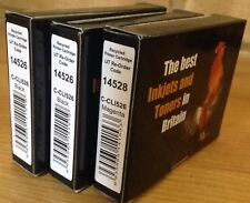 3 x C-CLI526 INK CARTRIDGES: 2x 14526 BLACK, 14528 MAGENTA; Replacement Recycled