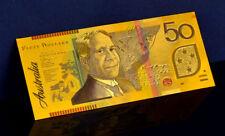 "★★ AUSTRALIE / AUSTRALIA : BILLET POLYMER  "" OR "" DU 50 DOLLARS ★★"