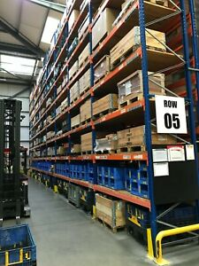 Used Storage Systems Pallet Racking Shelving Mezzanine Floors Cantilever Racking