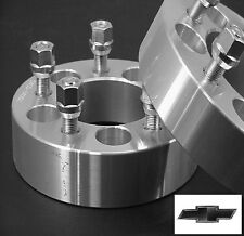 2 Pc CHEVY CAMARO 5X4.75 WHEEL ADAPTER SPACERS 1.50 Inch Free Ship # 5475C1215