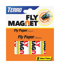 NEW! TERRO Fly Magnet Insect Fly Paper Ribbon 8-Pack T518