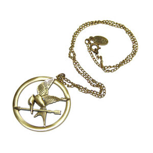 """NECA The Hunger Games Movie Necklace Single Chain """"Mocking Jay"""""""
