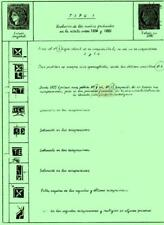 ARGENTINA. Philatelic papers on the CORRIENTES ISSUES by Lowey & Fredotovich