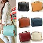 Women Lady Leather Handbag Shoulder Bag Tote Purse Messenger Satchel Crossbody