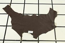 """""""New Hope"""" Brown High Quality Scrap Leather Hide Approx. 4.5 sqft. G75M16-7"""