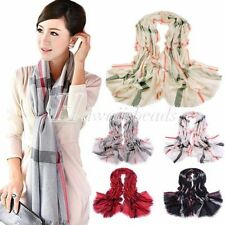 Voile Stole Scarves & Wraps Unbranded for Women