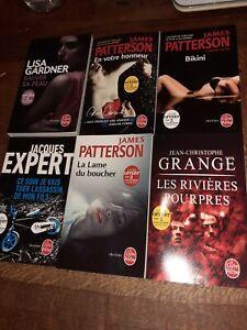 Lot 6 livres format poche vente solidaire Little princesse Aurore thrillers
