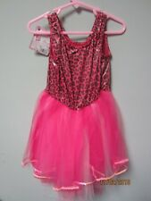 Princess Expressions Pink Leopard Dress Role-Play Costume Size Large