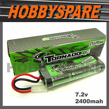 TORNADO 7.2v 2400mah NiMH RC BATTERY TAMIYA PLUG 1/10 CAR TRUCK - FREE POST