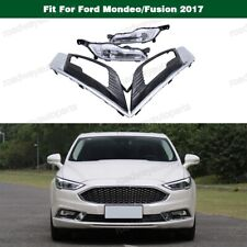 Front Bumper LED Fog Light Driving Lamp w/Bezel for Ford Mondeo/Fusion 2017